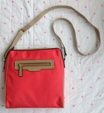 RADLEY Coral Orange Mercer Street Medium Zip Top Cross Body Bag Handbag BNWOT