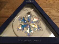 SWAROVSKI Crystal STARV 25th ANNIVERSARIO Ornamento articolo 5258537 NUOVO IN SCATOLA