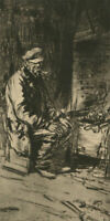 20th Century Photogravure - Mike The Dynamiter