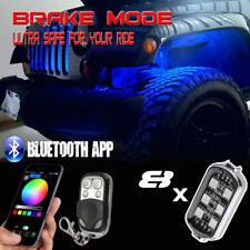 New listing 8pcs Pod Rgb Led Rock Lights for Trucks & Jeep, Rgb Rock Lights Off Road