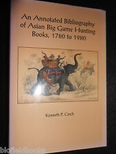 SIGNED/LTD - Bibliography of Asian Big Game Hunting Books 1780 to 1980 - K Czech
