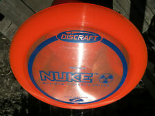Discraft Z Nuke 172 Fiery Orange First Run Maximum Distance D w/sweet Blue Stamp