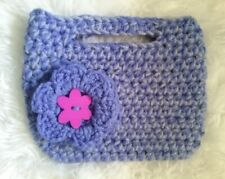 Handmade Mini Clutch Purse/Purple
