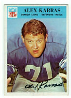 2free prints from his appearance on Saturday Night Live Alex Karras signed autograph autographed index card with Letter of Authenticity