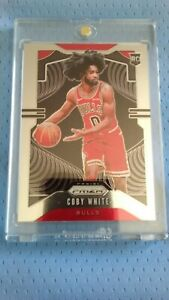 2019-20 Panini Prizm #253 Coby White Base RC Rookie Card Chicago Bulls