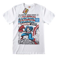 Captain America T Shirt Official Comic Cover Marvel Falcon Winter Soldier New