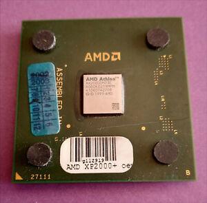 AMD Athlon XP 2000+ ax2000dmt3c CPU PALOMINO 1667 MHz 266 MHz FSB SOCLE A 462