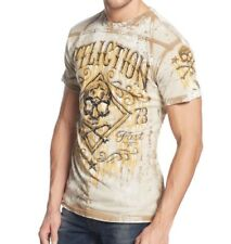 Mens AFFLICTION Bourbon Rust Tee. NWT Size L.  FREE SHIPPING