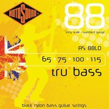 Rotosound RS88LD Trubass Black Nylon Flatwound Bass Strings