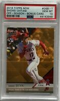 🔥2018 Topps Now Baseball Shohei Ohtani RC #OSB-1 PSA 10 GEM MT Angels Rookie🔥