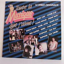 """33T TOUTE MUSIQUE QUE J'AIME Vinyle LP 12"""" MAS QUEEN SCORPIONS TELEPHONE TURNER"""