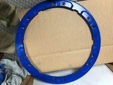 Ford Performance 17-18 Raptor Bead Lock Wheel Trim Ring Set Blue M-1021-F15BL