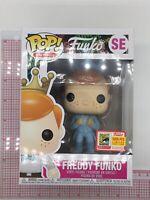 Funko Pop Freddy Funko Blue Tuxedo Harry LE 5000 Fundays 2018 SDCC MINOR WEAR M1