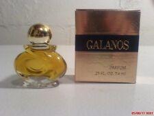 James Galanos signature scent 1/4 oz Parfum splash USA threaded cap