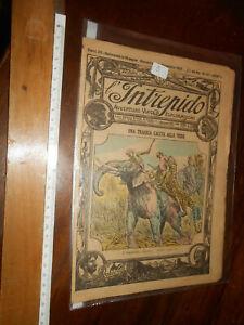 RIVISTA- L'INTREPIDO Avventure Viaggi Esplorazioni Anno II N107-11/12/1921