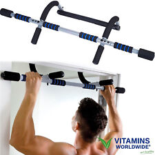 28aaa3eb6 DOOR FRAME PULL-UP Bar Chin-Up Exercise Doorway Fitness Home Gym Upper Body