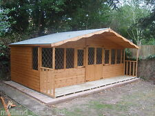 SUMMER HOUSE, 20x10   *FREE DELIVERY & FITTING*