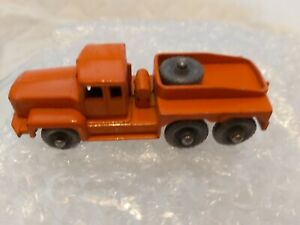 MATCHBOX 1- 75 SERIES 15B ALANTIC PRIME MOVER ISSUED 1958 RARE GRAY/ WHEELS (#