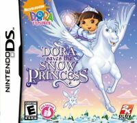 Dora the Explorer: Dora Saves the Snow Princess - Nintendo DS