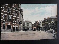 Derbyshire DERBY Victoria Street & Tramway Office c1907 by Shardlow & Son Derby