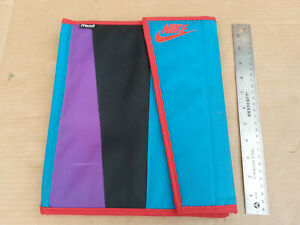 Vintage 1994 Nike Mead School Folder Trapper Keeper Purple Teal