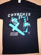 Chvrches  2019  UK  & Ireland tour shirt.Size large.