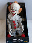 Pennywise IT Spirit Halloween Side Stepper Doll Toy Moving Laughing Animated New