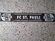 d1 sciarpa ST PAULI FC football calcio club scarf schal germania germany