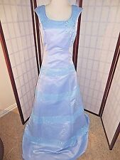 COLI couture Corset prom pageant debutante 10 light green *GREAT*
