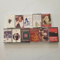 Vintage Christmas Audio Cassette Tapes - Lot of 11 VTG