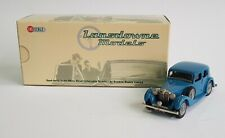 Rare Lansdowne Models LDM 84, 1937 MG VA Saloon 'Blue', - Superb Mint Condition.