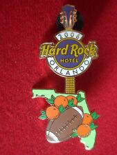 HRC Hard Rock Hotel Orlando Citrus Bowl 2006 Florida Map Guitar LE300 Cafe
