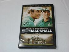 We Are Marshall DVD 2007 Widescreen Edition Drama Rated-PG Matthew McConaughey