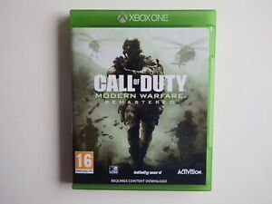 Call of Duty: Modern Warfare: Remastered on Xbox One in MINT Condition