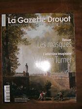 La Gazette Drouot N°13 2010 1013 Masques William Turner Valérie Guillaume