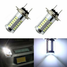 H7 5630SMD White 660LM 33 LED Light Car Fog Head Light Driving Bulbs 6000-8000K
