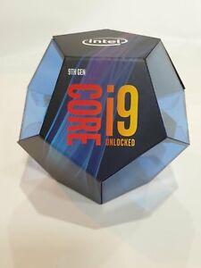 Intel Core i9-9900K 3,6GHz 8-Core/16T Prozessor Verpackung ist beschädigt