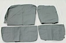 Genuine Toyota 70 Series Land Cruiser Front Canvas Seat Covers PZQ2260170