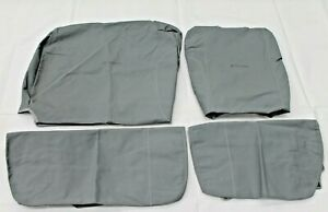 TOYOTA LANDCRUISER 70 SERIES SEAT COVERS FRONT CANVAS BUCKET 3/4 2001-2012 NEW