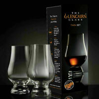 The Glencairn Official Crystal Whisky Glass - Set of 2 (Twin Pack)
