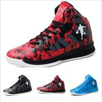 Casuals Shoes Men Basketball Sneaker High Top Athletic Running Sport Breathable