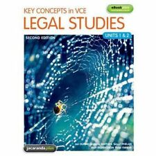 Key Concepts in VCE LEGAL STUDIES Units 1 & 2 Book SECOND EDITION Jan Dunne