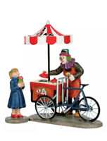 Lemax Spooky Town- I SCREAM U SCREAM -Food Cart -Holiday Village-Carnival -Train