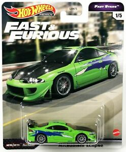 Mitsubishi Eclipse - Fast & Furious FAST STARS ** Hot Wheels Premium 1:64