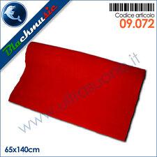 Moquette acustica adesiva rosso 65x140cm per interni, subwoofer e pianali