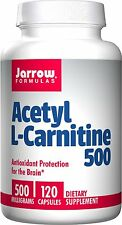 Jarrow Acetyl L-Carnitine 500 mg 120 Capsules