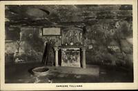 Roma Rom Italia Postkarte ~1920/30 Carcere Tulliano Mamertino al Foro Romano