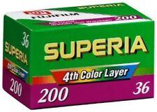 FujiColor Superia 200 Speed 24 Exposure Color Film