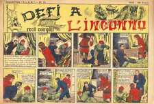 """DÉFI Á L'INCONNU/Collection """"E.LA.N""""/Numéro 12/1946"""