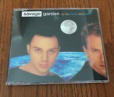 "SAVAGE GARDEN ""TO THE MOON AND BACK"" RARE ORIGINAL 1998 UK CD SINGLE"